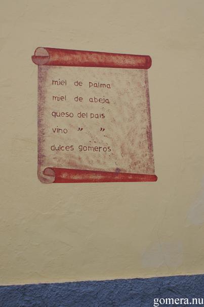 La Gomera - meny