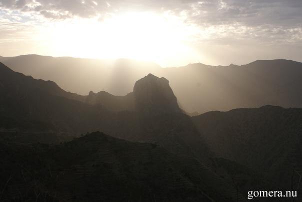 La Gomera - Ljus och raviner