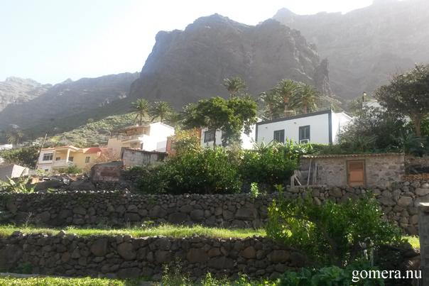 La Gomera terazas upper Valle Gran Rey