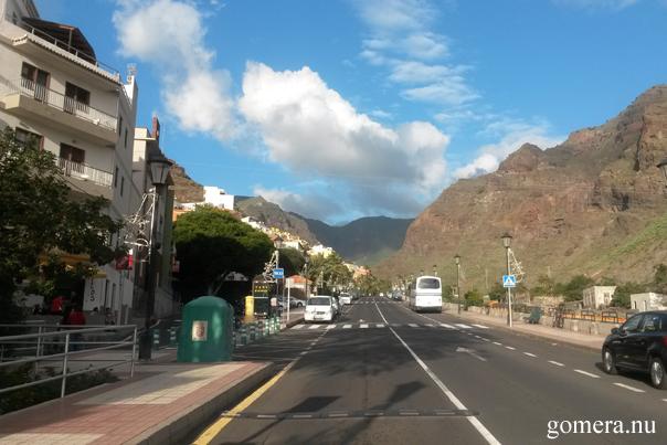 La Gomera ut ur Valle Gran Rey