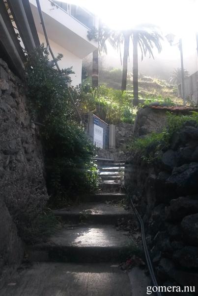 Valle Gran rey near La Vizcaina