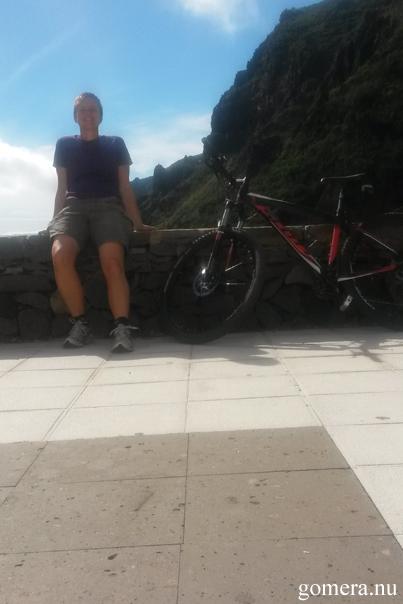 Jenny + cykel