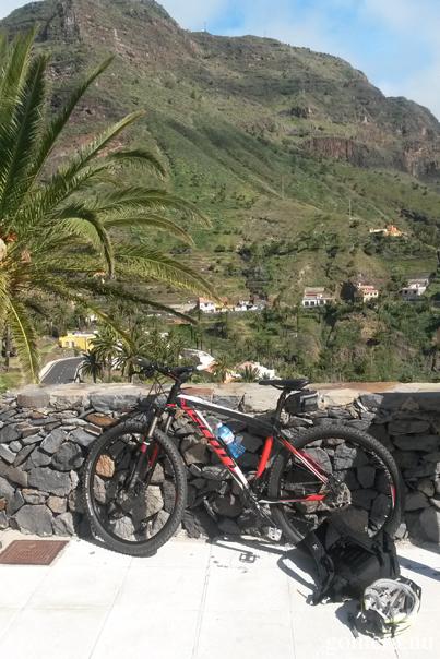 Valle Gran Rey cykel