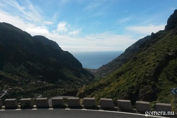 Valle Gran Rey från vägen