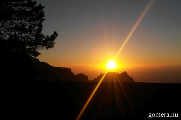 Mirador Arure Sunset