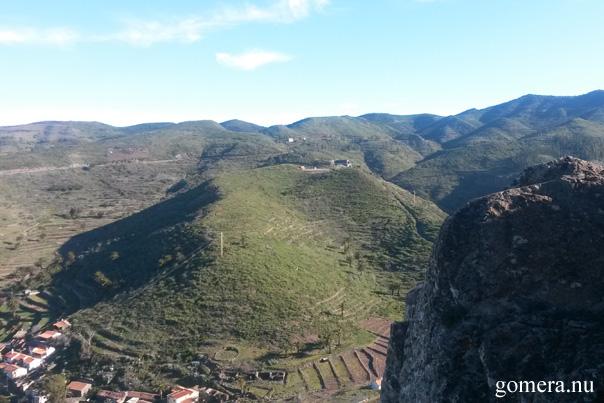 utsikt från La Fortaleza